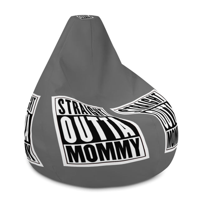 -Straight Outta Mommy Bean Bag Chair Cover