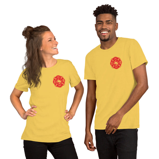 FF Logo Short-Sleeve Unisex T-Shirt w/Logo on Heart and Back Label, see below