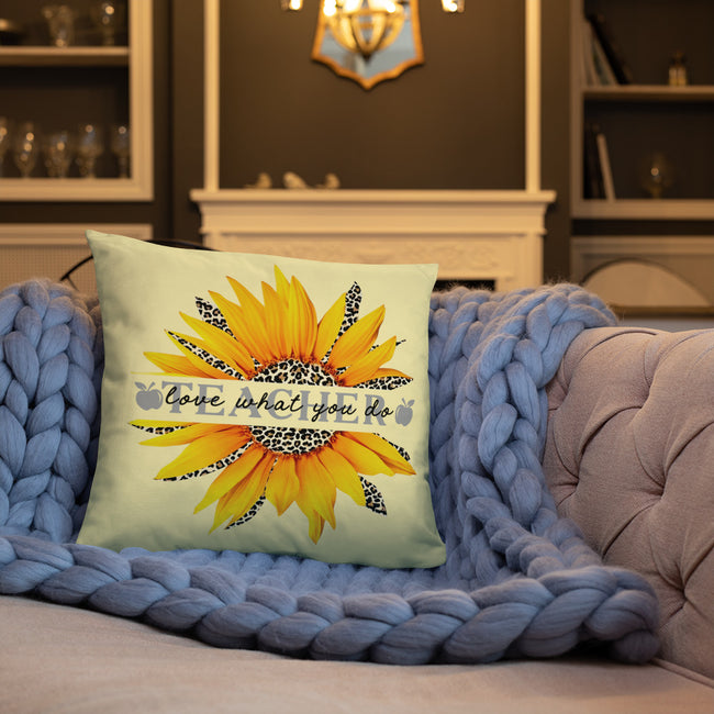Love What You Do Accent Pillow In 3 Sizes For Your Home Decor.