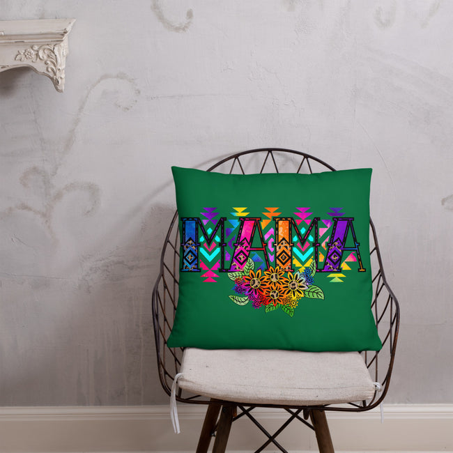 MAMA A Throw Pillow In 3 Sizes To Fit Your Home Decor