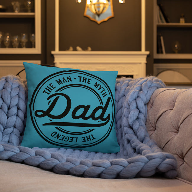 The Legend THROW PILLOW W/3 SIZES FOR YOUR HOME DECOR - MY TEE USA