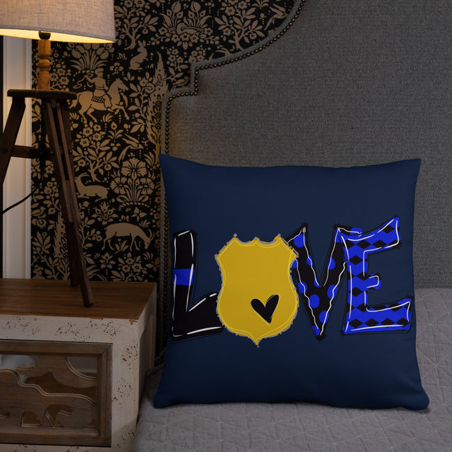 Love Throw Pillow W/3 Sizes For Your Home Decor
