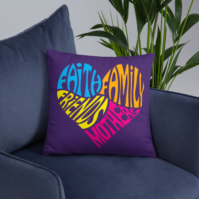 Mothers Heart Throw Pillows In 3 Sizes To Fit Your Home Decor