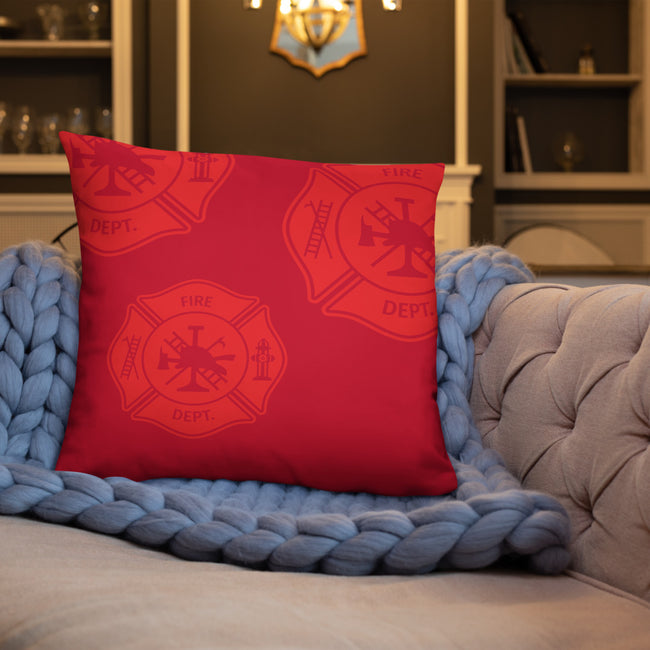 FF Logo Throw Pillow W/3 Sizes For Your Home Decor