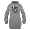 Big Veins Women's Hoodie Dress w/Logo on Chest - MY TEE USA