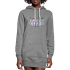 Essential AF Women's Hoodie Dress w/Logo on Chest - MY TEE USA