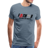 FaTHor Men's Premium T-Shirt w/Logo on Chest and Identixal Logo on Back - MY TEE USA