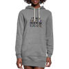 I Teach Women's Hoodie Dress w/Logo on Chest and Teach #Herolife on Back - MY TEE USA
