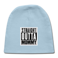 -Straight Outta Mommy Newborn Baby Cap - MY TEE USA