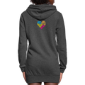 =Mothers Heart Women's Hoodie Dress w/Logo on Heart and Back - MY TEE USA