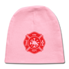 -Fire Fighter Logo Newbie Baby Cap - MY TEE USA
