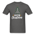 A Merry Christmas Unisex Classic T-Shirt w/Logo on Chest and Back - MY TEE USA