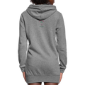 What Happens Under the Mistletoe Women's Hoodie Dress w/Logo on Chest and Back - MY TEE USA