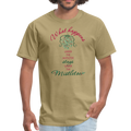 What Happens Under the Mistletoe Unisex Classic T-Shirt w/Logo on Chest and Back - MY TEE USA