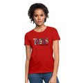 Teach #herolife Women's T-Shirt w/Logo on Chest - MY TEE USA