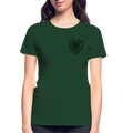 Work of Heart Gildan Ultra Cotton Ladies T-Shirt w/Logo on Chest - MY TEE USA