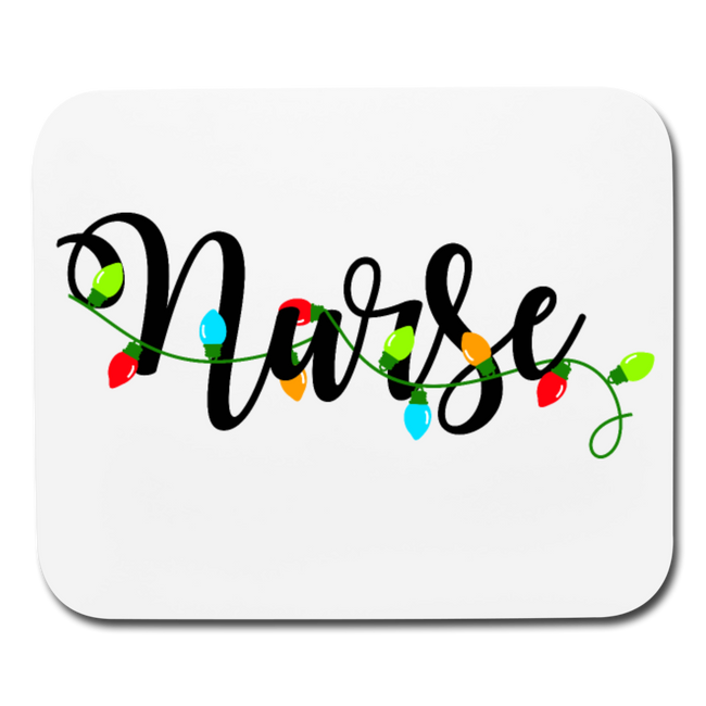 Nurse Horizontal Mouse Pad - MY TEE USA