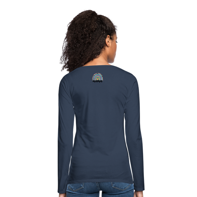 =mama A Women's Premium Long Sleeve T-Shirt - MY TEE USA