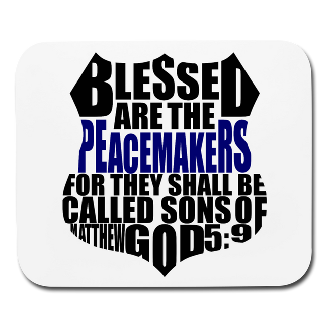 Blessed Badge Mouse Pad - MY TEE USA
