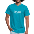 Thou Shall Not Try Me Unisex Jersey T-Shirt by Bella + Canvas w/Logo on Chest - MY TEE USA
