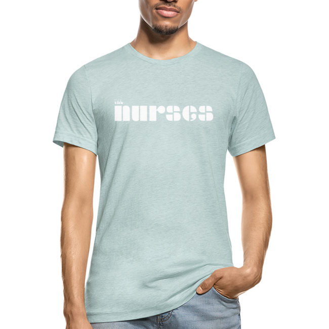 The Nurses From The Doors Unisex Heather Prism T-Shirt w/Logo on Chest - MY TEE USA