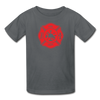 FF Logo Kids' T-Shirt - charcoal