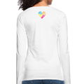Women's Premium Long Sleeve T-Shirt - white