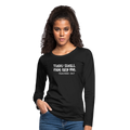 Women's Premium Long Sleeve T-Shirt - black