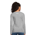 Women's Premium Long Sleeve T-Shirt - heather gray