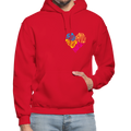 Gildan Heavy Blend Adult Hoodie - red