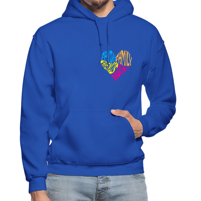 Gildan Heavy Blend Adult Hoodie - royal blue