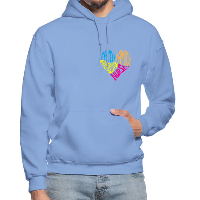 Gildan Heavy Blend Adult Hoodie - carolina blue