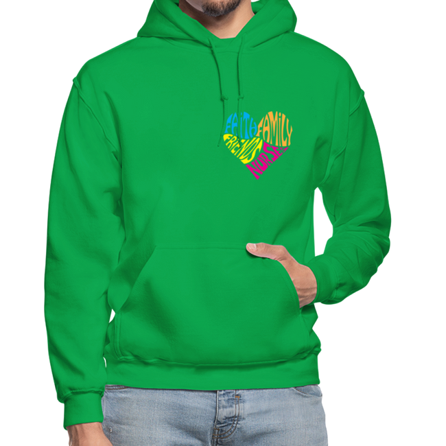 Gildan Heavy Blend Adult Hoodie - kelly green