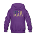 USA Love It Kids' Hoodie - purple