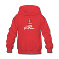 Merry Christmas Kids' Hoodie - red