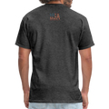 USA Love It Unisex Short Sleeve Fruit of the Loom w/Logo on Chest and Back Label - heather black