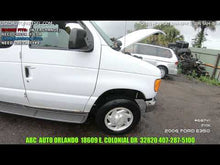 Load and play video in Gallery viewer, 5.4L Engine FORD E350 02 03 04 05 06 07 08 VAN Used ABC Junkyard Orlando Parts