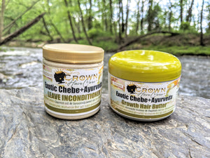 Bundle Exotic Chebe+Ayurveda Butter and leave in