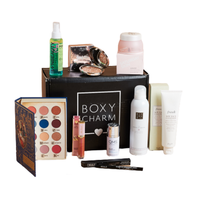 Boxycharm base box exclusively in Australia from the USA.