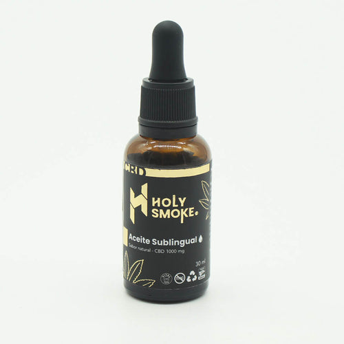 ACEITE SUBLINGUAL CBD 1000 MG HOLY SMOKE PRODUCTS