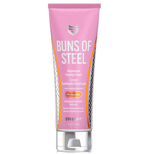 BUNS OF STEEL 8 OZ CREMA TONIFICANTE STEEL FIT - SDM Suplementos Deportivos