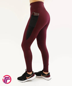 LEGGINGS DEPORTIVO TINTO RED TFIT PRO
