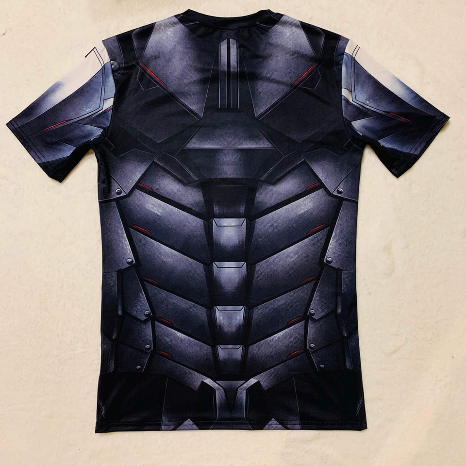 PLAYERA BATMAN VS SUPERMAN MANGA CORTA SUBLIMADA SUPERHEROES