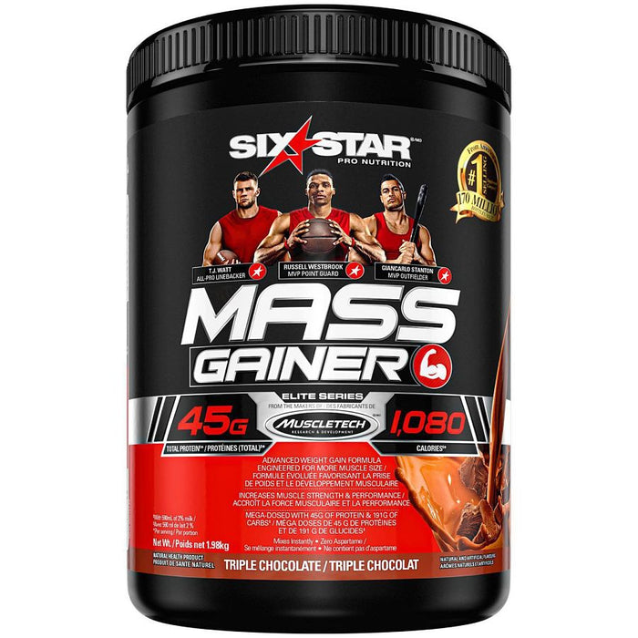 MASS GAINER 4 LBS SIX STARS PRO NUTRITION