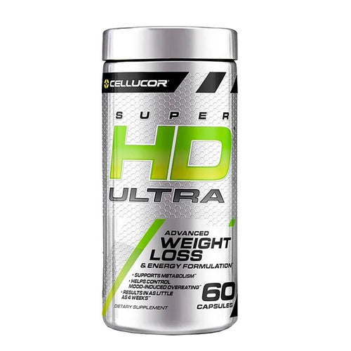 SUPER HD ULTRA 60 CAPS CELLUCOR - SDM Suplementos Deportivos