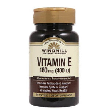 VITAMINA E 400 IU 90 CAPS WINDMILL HEALTH