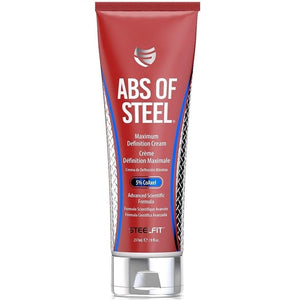 ABS OF STEEL 8 OZ CREMA REDUCTIVA - SDM Suplementos Deportivos