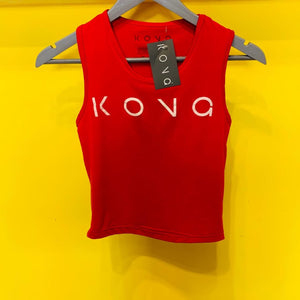 CAMISETA TOP ROJO UNITALLA KONG CLOTHING