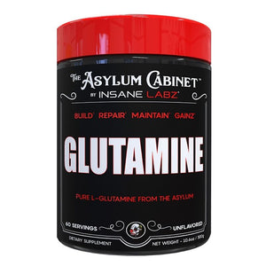 GLUTAMINA 300 GMS INSANE LABZ