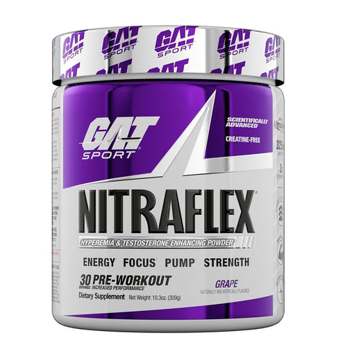 NITRAFLEX ADVANCED FORMULA 30 SERV GAT SPORTS